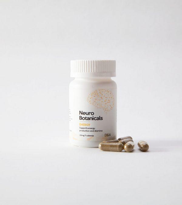 Neuro Botanicals Energy Microdose Mushroom Capsules 2