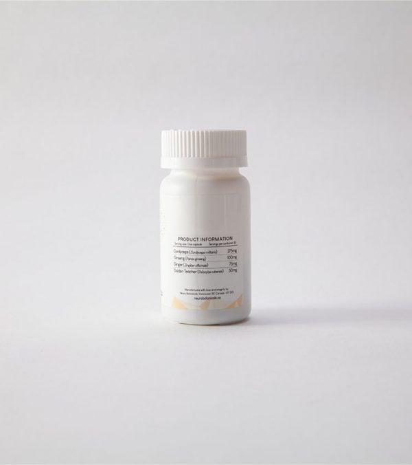 Neuro Botanicals Energy Microdose Mushroom Capsules 3