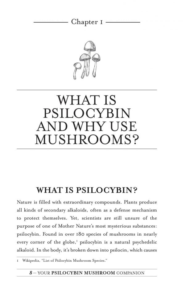Your Psilocybin Mushroom Companion Book 2