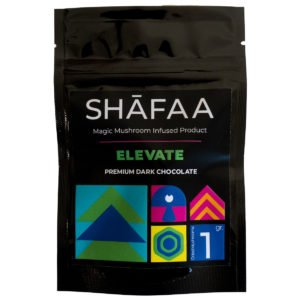Shafaa Magic Mushroom Dark Chocolate Elevate