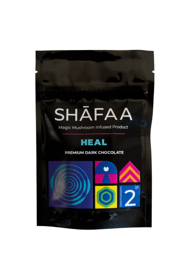 Shafaa Magic Mushroom Dark Chocolate Heal