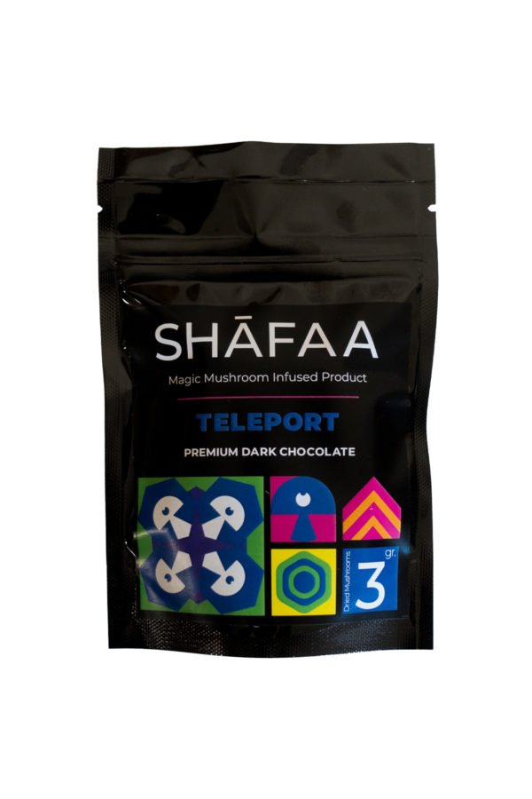 Shafaa Magic Mushroom Dark Chocolate Teleport