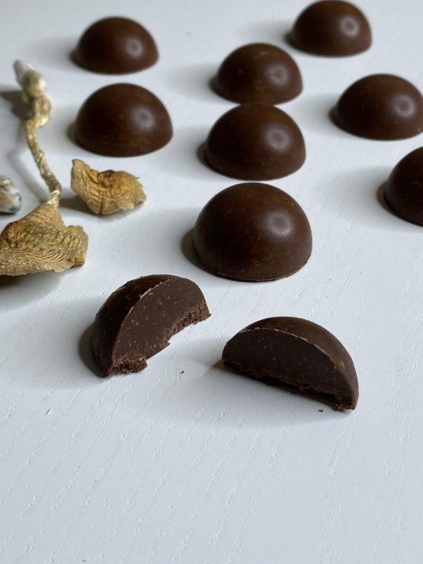 Shafaa Magic Mushroom Dark Chocolates