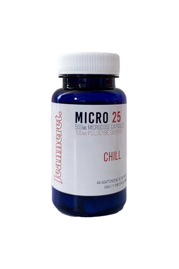 Jeanneret Botanical Micro 25 Chill Microdose Mushroom Capsules
