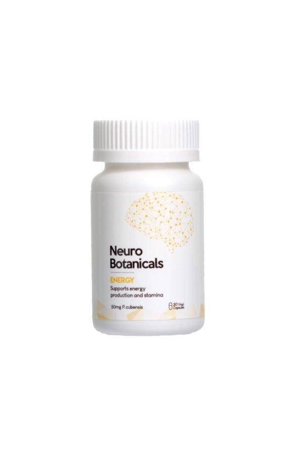 Neuro Botanicals Energy Microdose Mushroom Capsules