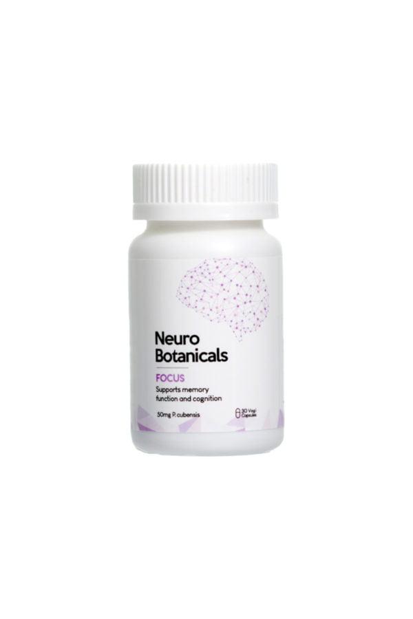 Neuro Botanicals Focus Microdose Capsules de champignons