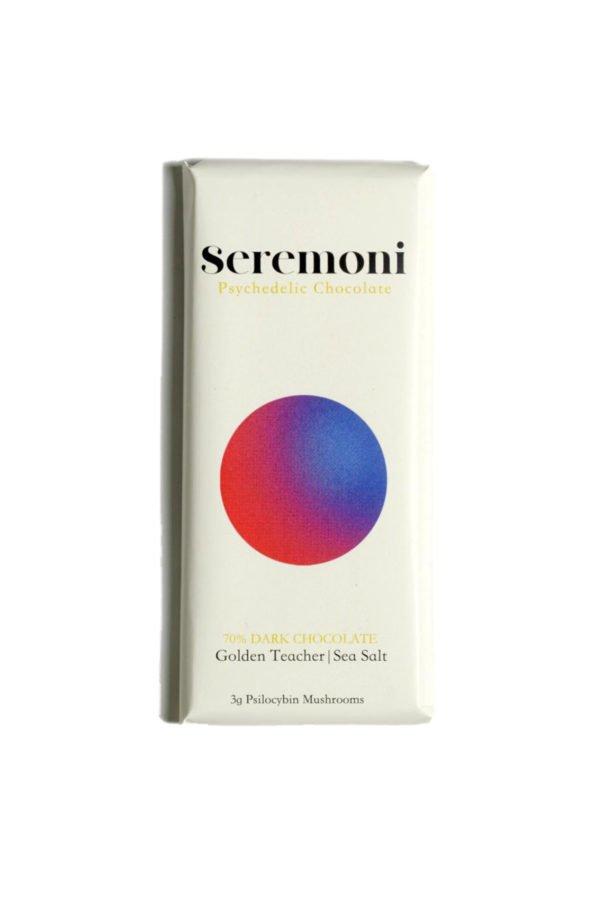 Seremoni Psilocybin Chocolate Bar – Sea Salt