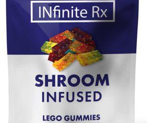 INfinite Rx Shroom Infused Block Gummies Edibles (2000mg)
