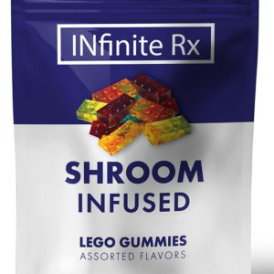 INfinate Rx Shrooms Infused Lego Gummies