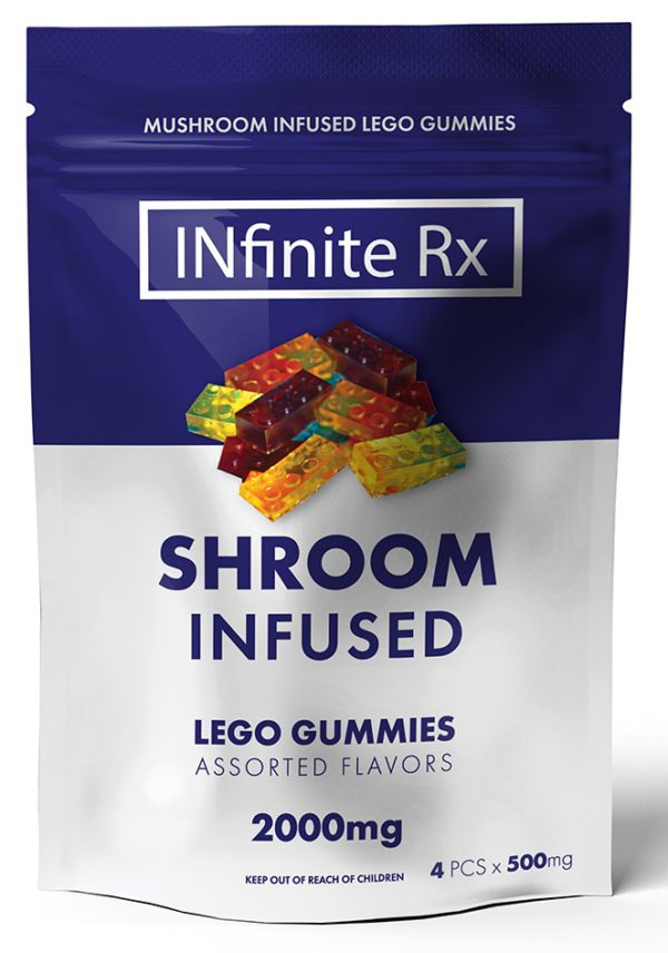 INfinate Rx Shrooms Infused Lego Gummies