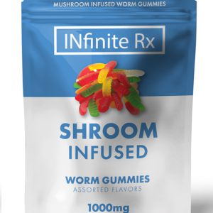 INfinate Rx Shrooms Infused Worm Gummies