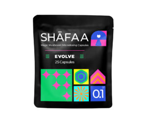 Shafaa Evolve Magic Mushroom Microdosing Prime Capsules