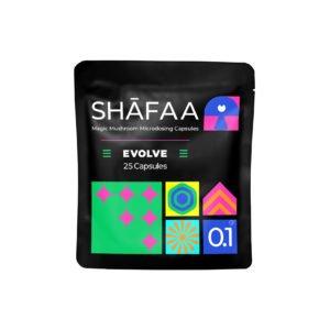 Shafaa Evolve Magic Mushroom Microdosing Prime Capsules