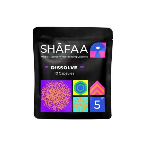 Shafaa Macrodosing Magic Mushroom Capsules Dissolve