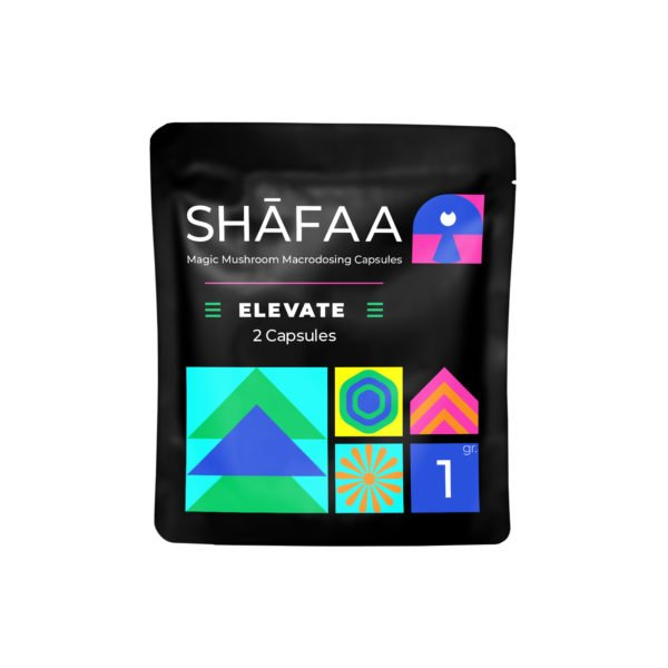 Shafaa Macrodosing Magic Mushroom Capsules Elevate