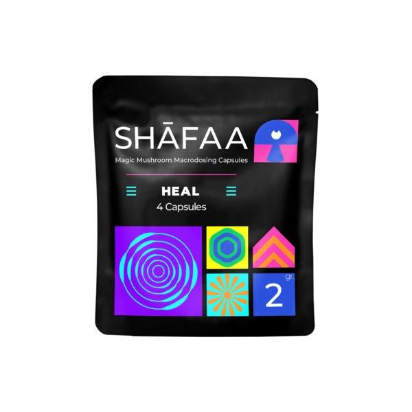 Shafaa Macrodosing Magic Mushroom Capsules Heal