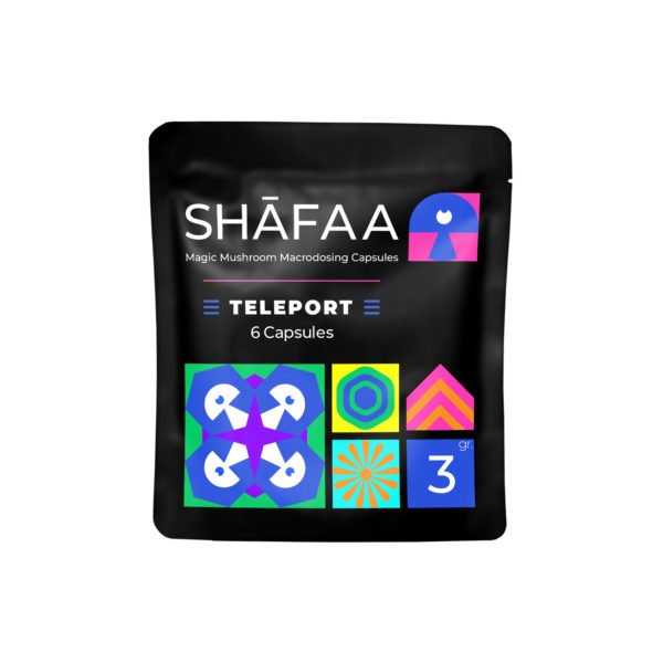 Shafaa Macrodosing Magic Mushroom Capsules Teleport