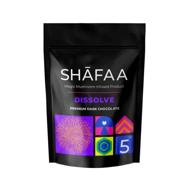 Shafaa Macrodosing Magic Mushroom Chocolate Edibles Dissolve 5g
