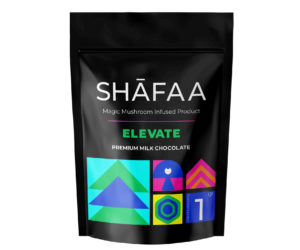 Shafaa Macrodosing Magic Mushroom Milk Chocolate Edibles
