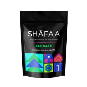 Shafaa Macrodosing Magic Mushroom Milk Chocolate Edibles Elevate 1g