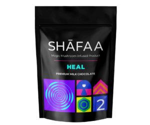 Shafaa Macrodosing Magic Mushroom Milk Chocolate Edibles