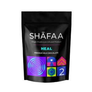 Shafaa Macrodosing Magic Mushroom Milk Chocolate Edibles Heal 2g