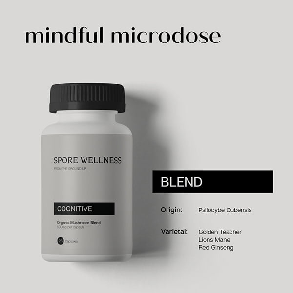 Spore Wellness Cognitive Microdosing Mushrooms