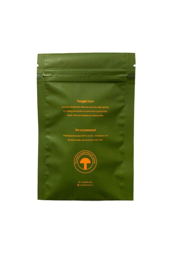 Magic Mushroom Tea Green Tea Back