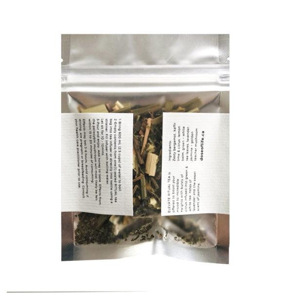 Dose Psilocybin Ritual Tea Back Bag