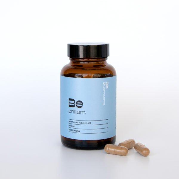 Be Brilliant Mushroom Supplement Capsules