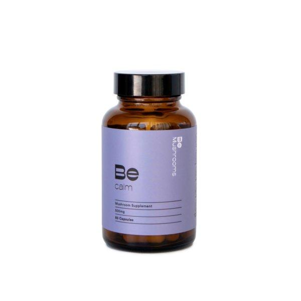 Be Calm Booster Mushroom Supplement Capsules Main