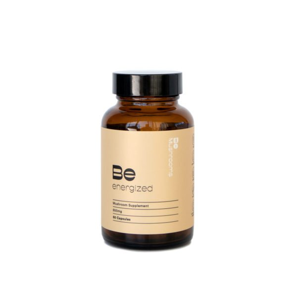 Be Energized Booster Mushroom Supplement Capsules Main