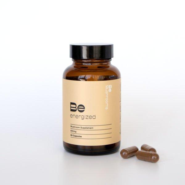 Be Energized Booster Mushroom Supplement Capsules Pills