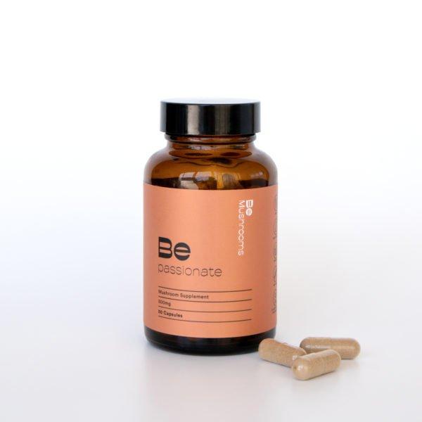 Be Passionate Mushroom Supplement Capsules