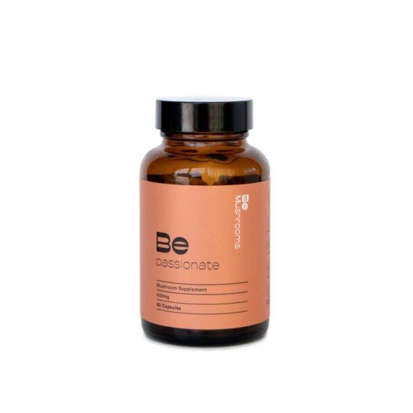 Be Passionate Mushroom Supplement Capsules Product