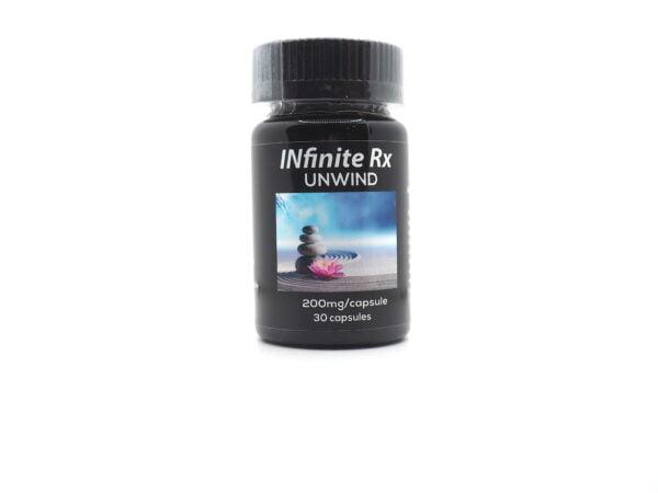 INfinite Rx Unwind Microdosing Mushroom CBD Capsules